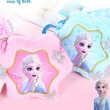 Plush-Backpack Handbag Frozen Girls Kids Cartoon Children Disney Elsa for Mini Crossbody