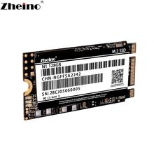 Zheino m.2 SSD SATA 64GB 128GB 256GB 512GB 2242mm NGFF Внутренний твердотельный жесткий диск для ноутбука