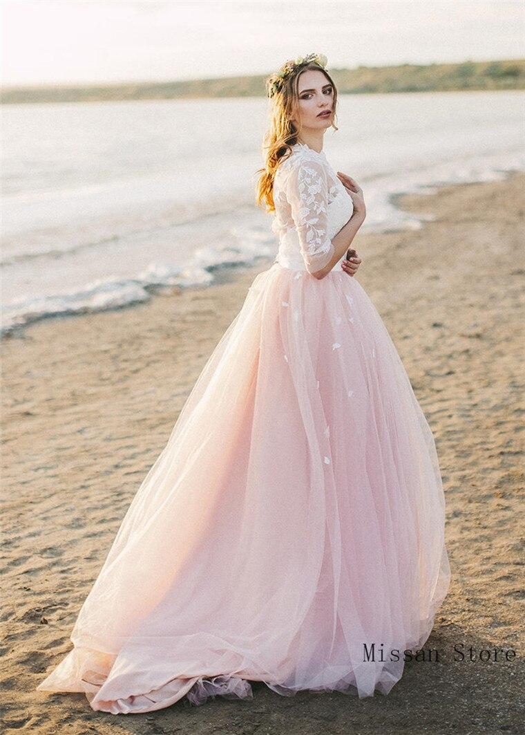 Blush PInk  Bridal Skirt Wedding Skirt Wedding Party Skirt High Low Puffy Wedding Dress Petticoat