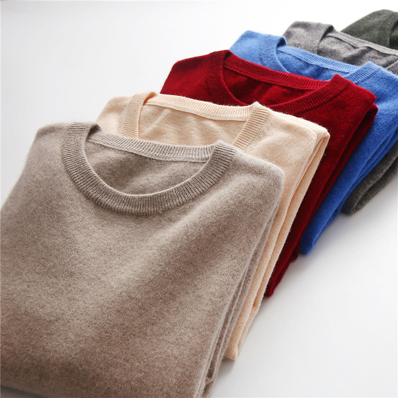 Cashmere Basic Sweater Men 2019 Autumn Jersey Jumper Robe Hombre Pull Homme Hiver Solid Pullover Men O-neck Slim Knitted Sweater
