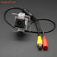 BigBigRoad Wireless Vehicle Rear View Parking Camera HD Color Image For Mercedes Benz GLK MB X204 GLK350 2008- 2013 2014 2015 цена 2017