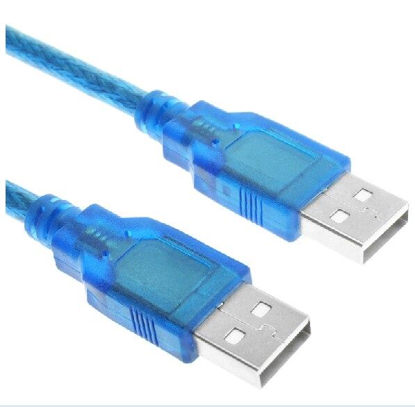 0,3 M USB кабель для передачи данных с двумя штекерами зубная щетка с двумя головками мобильного кабель передачи данных на жестком диске Тетрад...