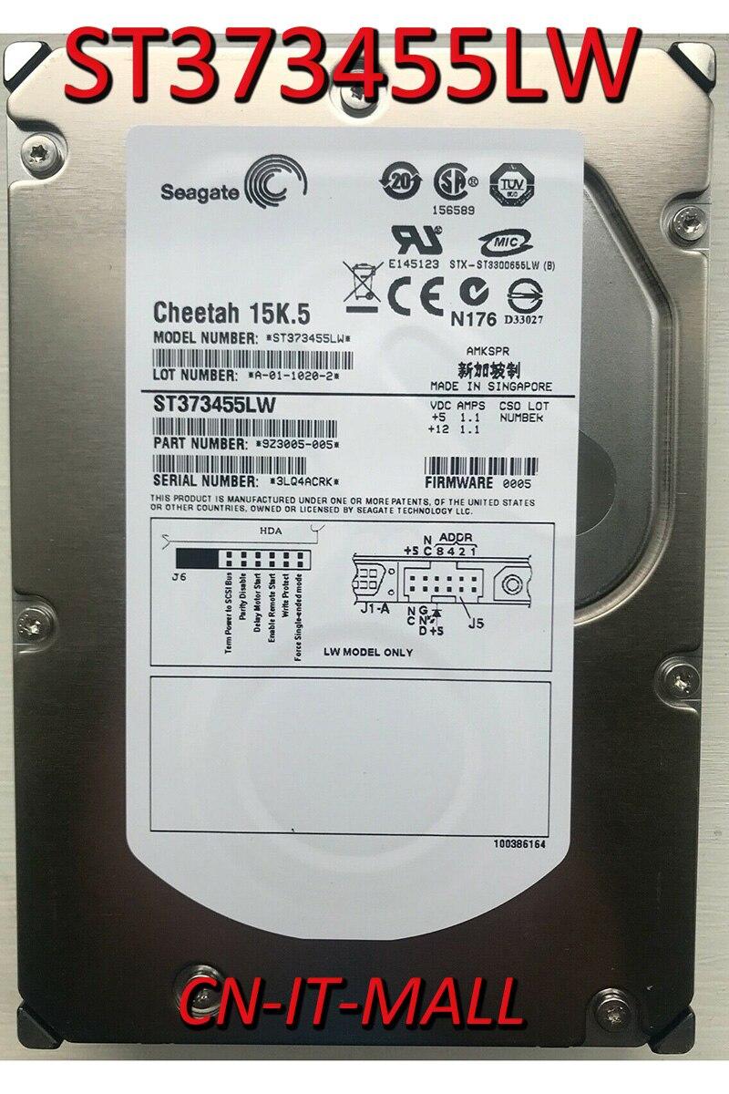 Жесткий диск Seagate Cheetah 15K.5 ST373455LW 73,4 ГБ 15000 об/мин 16 Мб кэш SCSI Ultra320 68pin 3,5 дюйма