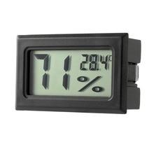 Мини цифровой термометр с ЖК-экраном датчик влажности термометр гигрометр циркуль белый/черный
