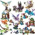 Строительные блоки для мальчиков и девочек, эльфов, дракон, заповедник, друзья, игрушки 10698, 10415, 10696, 10413, 10551, 10549, 10414, 10548, 10500, 41174