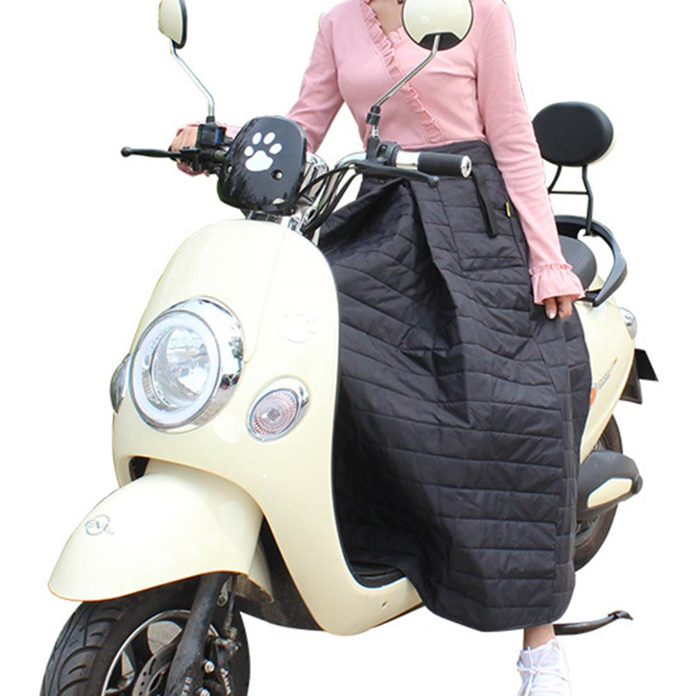 Scooters Leg Cover Knee Blanket With 2 Pockets Winter Warmer Waterproof Windproof Motorcycle Scooter Winter Quilt Leg Cover