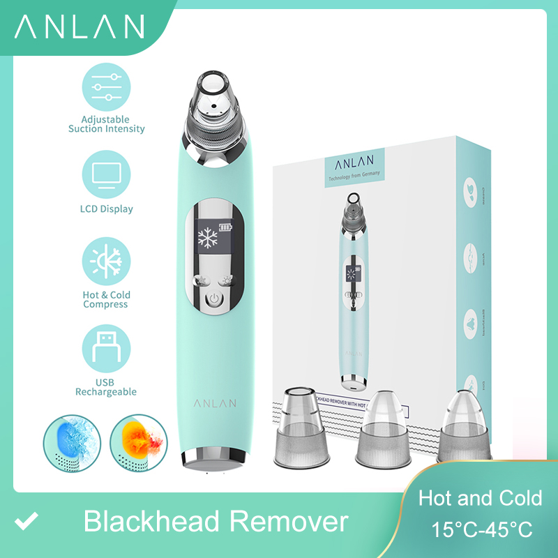 Blackhead Remover Hot Cold Facial Cleaner Deep Pore Acne Pimple Removal Vacuum Suction Diamond Beauty Tool Face SPA Skin Care|Face Skin Care Machine|   - AliExpress