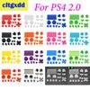 Cltgxdd 1 סט בקר R2 L2 R1 L1 כפתורי הדק חלקי PS4 2.0 בקר JDS 001 010 כפתורי ערכה בקר אביזרי