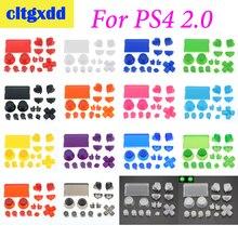 Cltgxdd 1 zestaw kontroler R2 L2 R1 L1 wyzwalania przyciski części dla PS4 2.0 kontroler JDS 001 010 zestaw przycisków akcesoria do kontrolerów