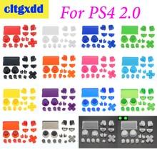cltgxdd 1 set Controller R2 L2 R1 L1 Trigger Buttons parts For PS4 2.0 Controller JDS 001 010 Buttons Kit Controller Accessories