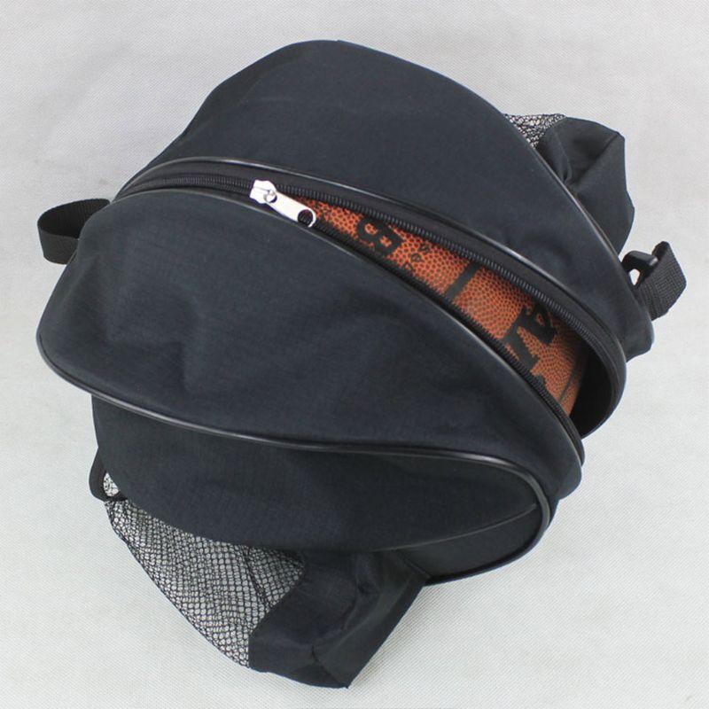 Universal Sport Bag Basketball  Football Volleyball Backpack Handbag Round Shape Adjustable Shoulder Strap Ball Bag Hot 27RD
