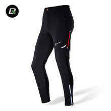 цена на RockBros Men Women Cycling Pants Bicycle Bike Tights Riding Sports Reflective Tights Cycling Pants Cycle Clothing Long Trousers