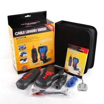 Многофункциональный тестер сетевого кабеля с ЖК дисплеем, тестер длины кабеля, тестер точки останова, проверка кабеля, телефонная проверка