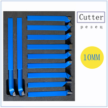 """11 Pcs 5/16"""" Carbide Tipped Cutter Set for Metal Lathe Turning, Boring, and Chamfering"""