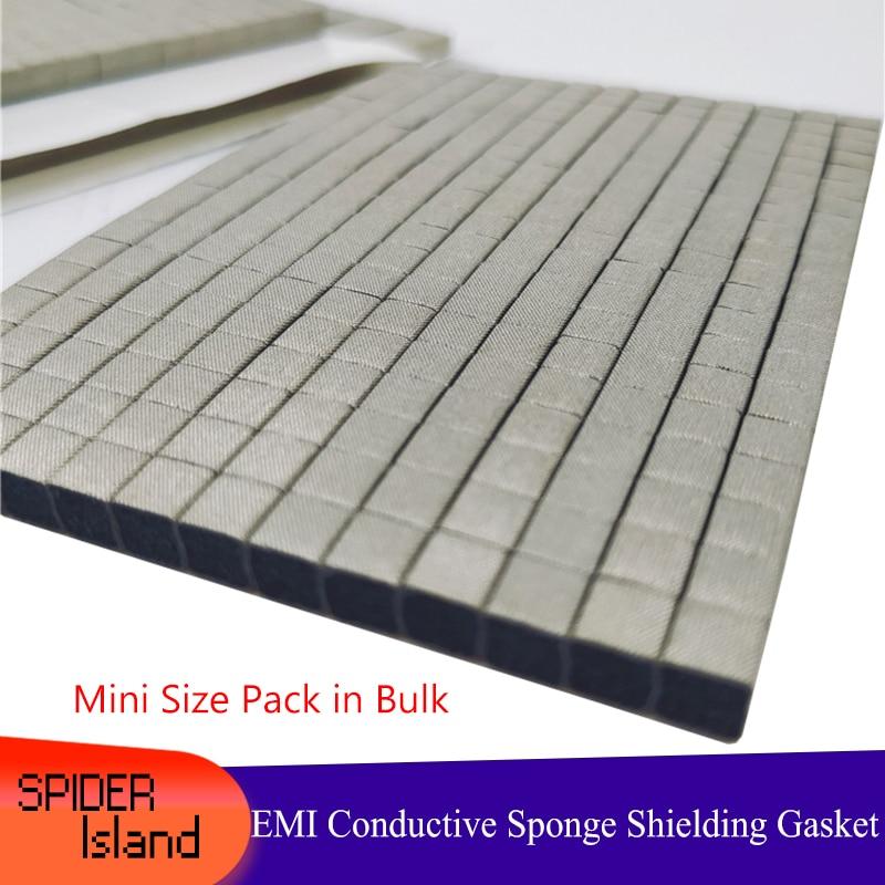 Mini Size Sticky Conductive Foam Sponge EMI ESD Shielding Gasket For Laptop Phone LCD Tablet GPS Repair DIY Pack In Bulk