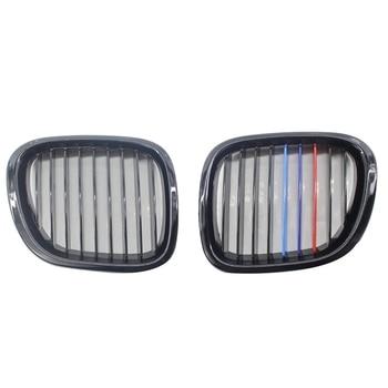 الجبهة الأداء مصبغة شواء لسيارات Bmw Z3 1996-2002 M-اللون لامعة الأسود Z سلسلة للتحويل كوبيه