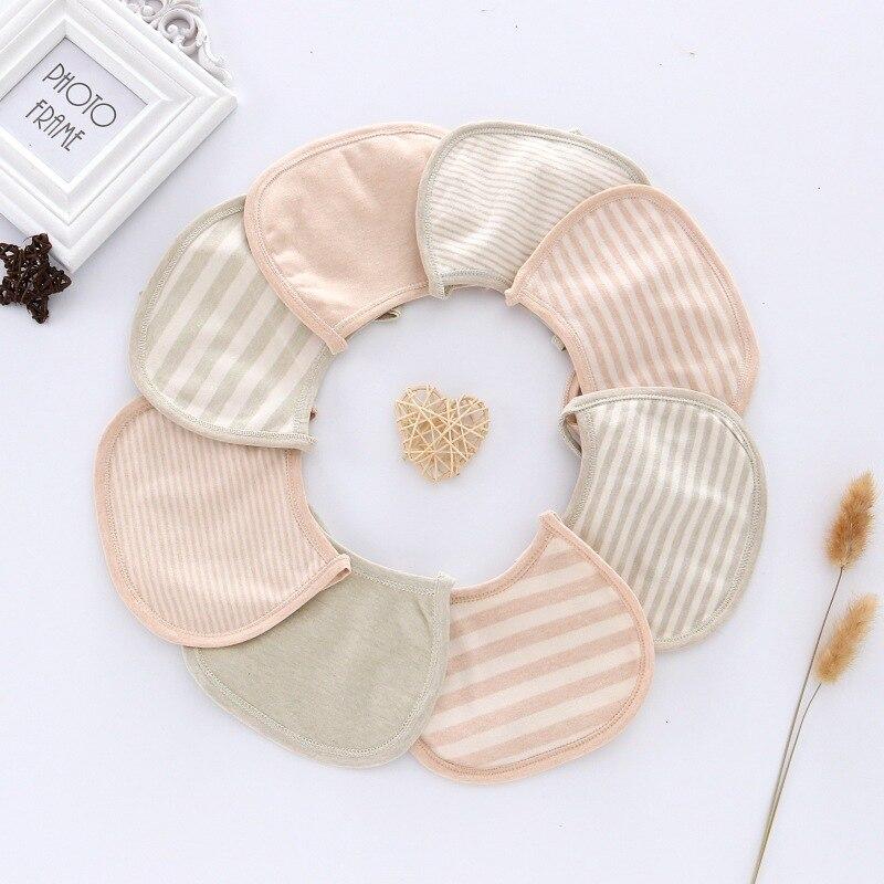 [2 Article 4.99 Yuan] Full Color Cotton Infants Children U-Shaped Bib Mouth Bibs Bandage Cloth Hot Selling South Korea Cartoon