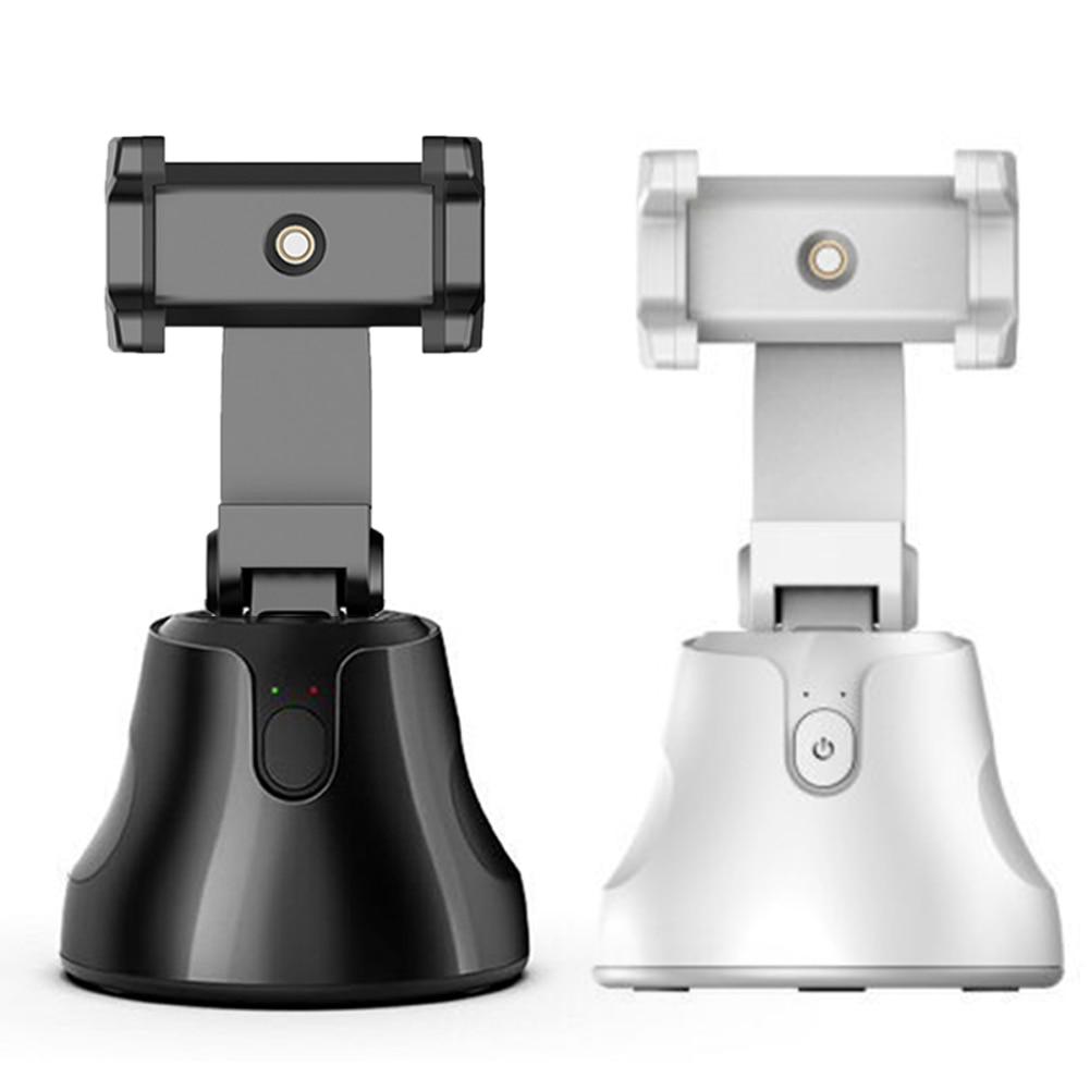 Smart Shooting Selfie Stick Smartphone Holder Mount 360 Rotation Auto Face Tracking Object Tracking vlog Camera Phone Holder 5