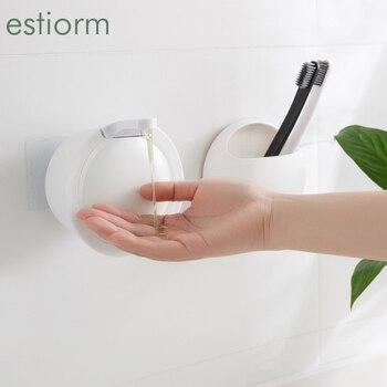 Mini Wall Mounted Soap Dispenser Kitchen Hand Wash Dish Washing Liquid Soap Dispenser - Bathroom Dispenser for Hand Sanitizer palmolive ultra antibacterial orange dish washing liquid 10oz