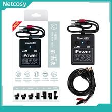IPower מקס 5th Gen כוח אספקת iPower מבחן כבל עבור iPhone 6G/6S/6P/6SP/7/7P/8G/8P/X/XS/XS מקסימום DC כוח שליטה מבחן כבל