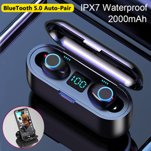 True Wireless Earbuds TWS Bluetooth 5.0 Earphone Stereo HD Call Wireless earpiec