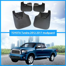 Car Mudflaps For Toyota Tundra 2012-2017 Front Rear Fenders Splash Guards Mudguards Mud-Flaps Accessories 4Pcs/Set
