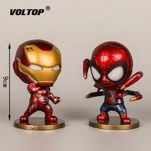 4 teile/satz Super Hero Modell Auto Ornamente Zubehör für Mädchen Innen Dashboard Dekoration Puppe mit Licht