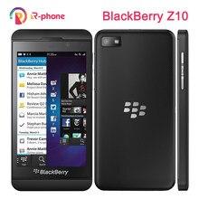 Blackberry z10 duplo núcleo remodelado telefone móvel gps wifi 8mp 4.2