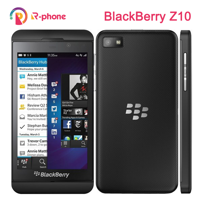 Original Refurbished Blackberry Z10 Dual core GPS WiFi 8MP 4.2