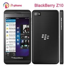 "Orijinal yenilenmiş Blackberry Z10 çift çekirdekli GPS WiFi 8MP 4.2 ""2GB RAM 16GB ROM Unlocked telefon"