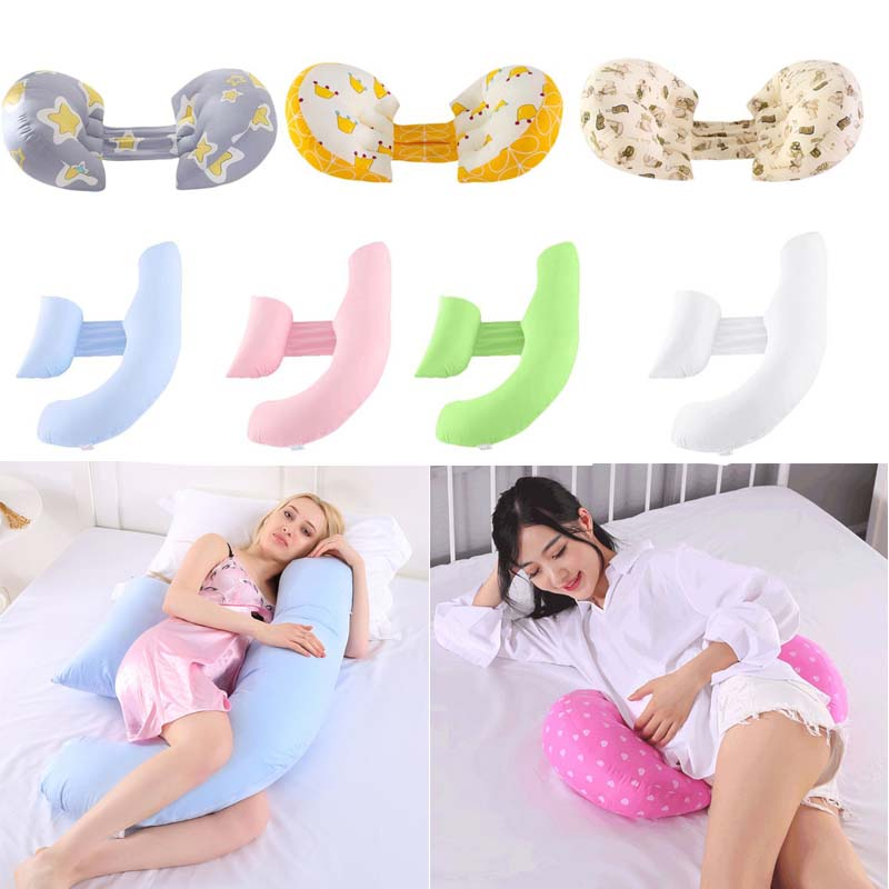 H -Type Nap Side Sleeper Cushion Lumbar Waist Pillow Multi-Functional Pregnant Women Pillows Side Lying Comfort Supplies