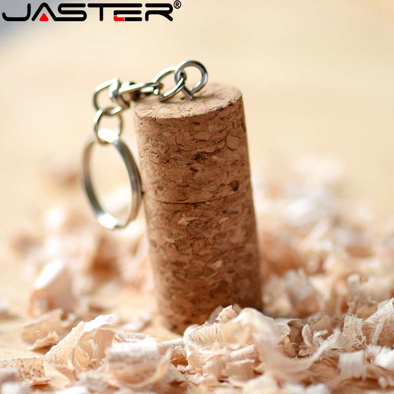 JASTER USB 2.0 Fashion Promotion Tie Plug (free Custom LOGO) Wooden Usb Flash Drive Pendrive 4gb/8gb/16gb/32gb/64gb/128gb U Disk