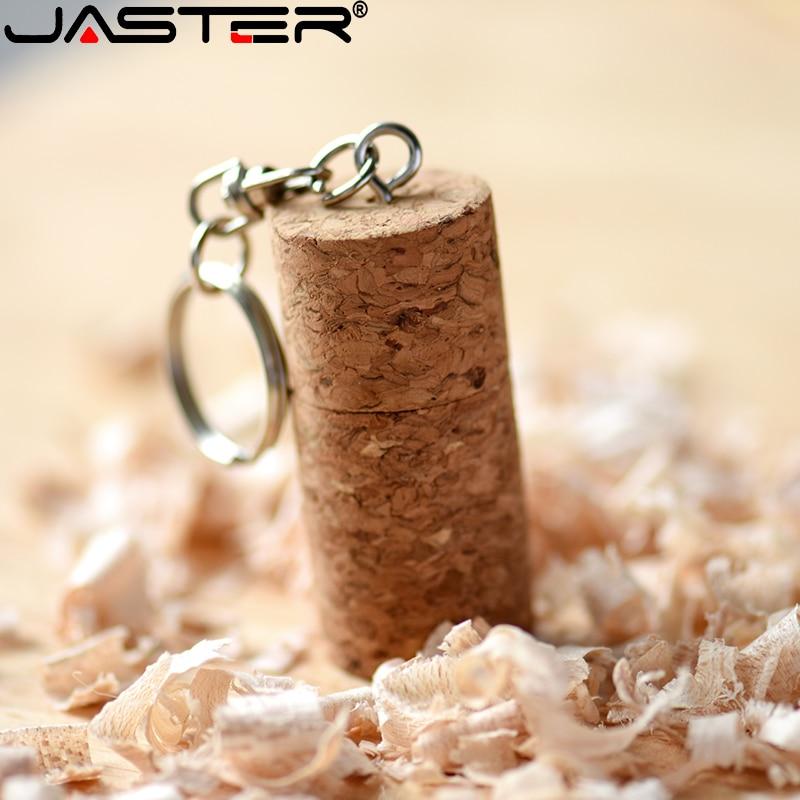 JASTER USB 2.0 Fashion Promotion Tie Plug (free Custom LOGO) Wooden Usb Flash Drive Pendrive 4gb/8gb/16gb/32gb/64gb/128gb U Disk