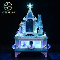 Kyglaring Led Beleuchtung Set DIY Spielzeug Für 41168 Elsa der Schmuck Box Creation Gebäude Block (Nicht Enthalten Bausteine)