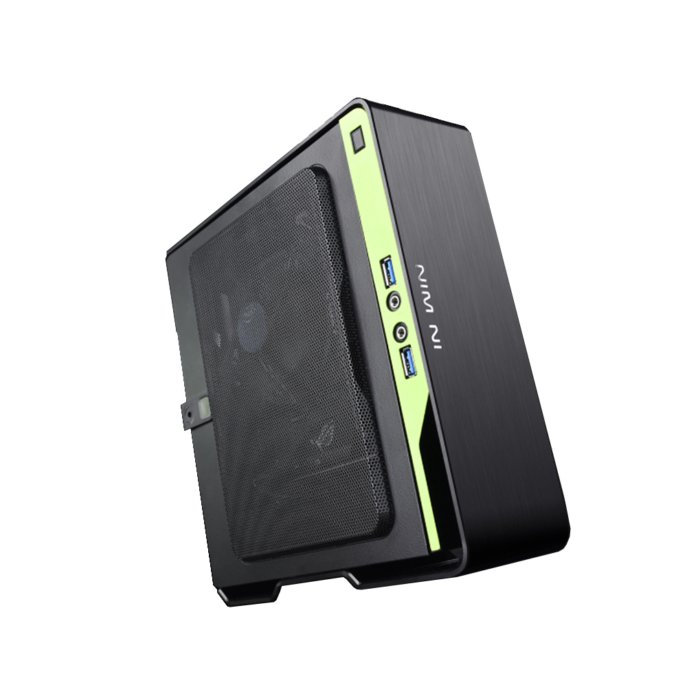 Super Mini ITX Desktop Case With 150W 80Plus Power Supply Support I7 9700 CPU HTPC Computer Gaming Mini-ITX Tower With Radiator 1