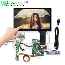 10.1 inch touch screen for Raspberry laptop automotive display 1280*720 IPS with VGA HDMI driver board DJ101IA-07A 750 Luminance кондиционер smartway sme 07a sue 07a