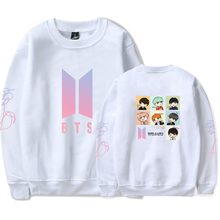 BTS Bulletproof Boys Should Aid the Clothes Celebrity Style Cute Cartoon Printin