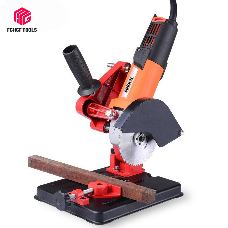 FGHGF Multifunctional Electric Angle Grinder Drill Stand Fixed Bracket Holder Cutting Machine Hand Power Part Tool Accessory