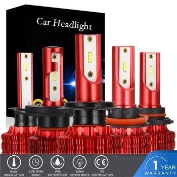 2pcs H11 H1 LED Lamp H7 LED H4 Car Headlight Bulbs for Auto 12V 40W 10000LM H8 H9 9005 HB3 9006 HB4 9003 HB2 Fog lights 6500K 2pcs 4 sides 6000k h7 led h4 h1 h8 hb2 h11 h3 hb3 led canbus 9005 9006 hb4 h9 fog lamp car headlight bulbs 80w 8400lm 12v light
