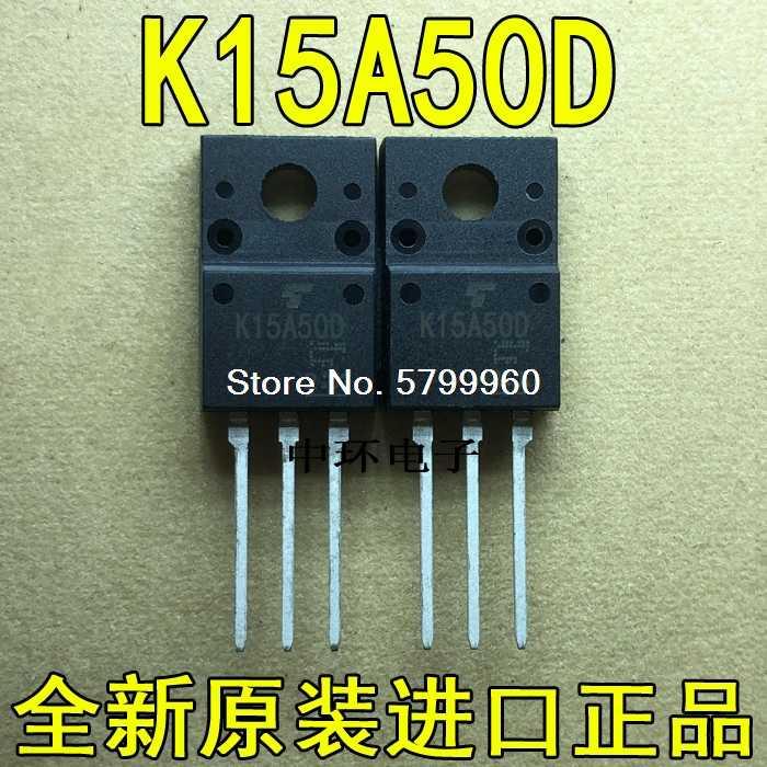 5PCS X K15A50D TO-220F