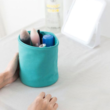 Portable Makeup Canvas Storage Bags Multifunctional Waterproof Travel Bathroom Cosmetic Box Toiletry Wash Bag Makeup Organizer