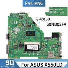 PAILIANG Laptop motherboard For ASUS X550LD REV:2.0 60NB02FA Mainboard Core SR16Q i3-4010U DDR3(China)