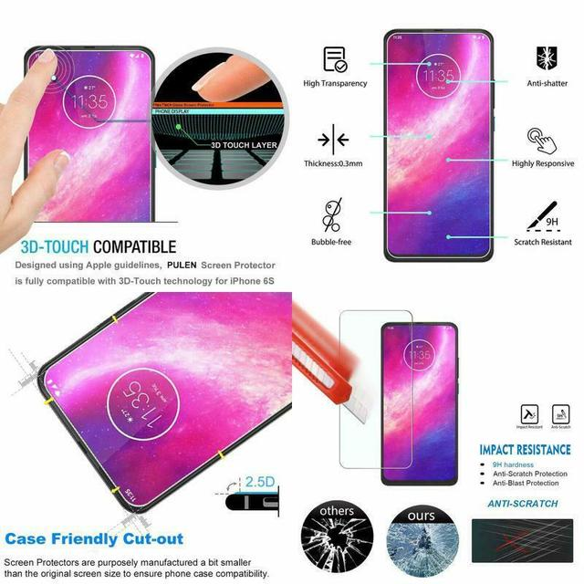 Tempered Glass For Moto Macro One Hyper Zoom E6 E 6 Plus Screen Protector Film for Motorola Moto Moto E6S E 6S Screen Protector