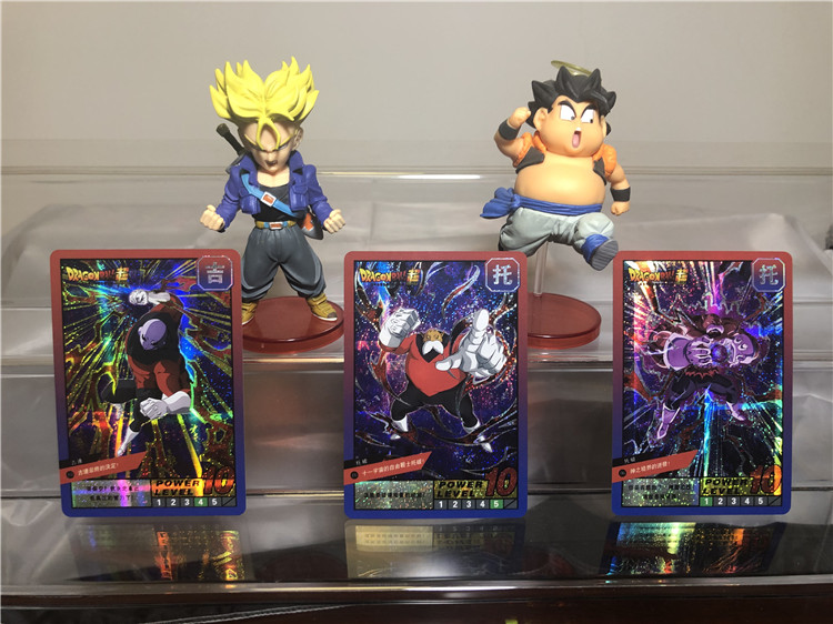 54 PCS Dragon Ball Super Super Instinct Limit BREAK Action Character Commemorative Edition Game Flash Card Collection Anime Card