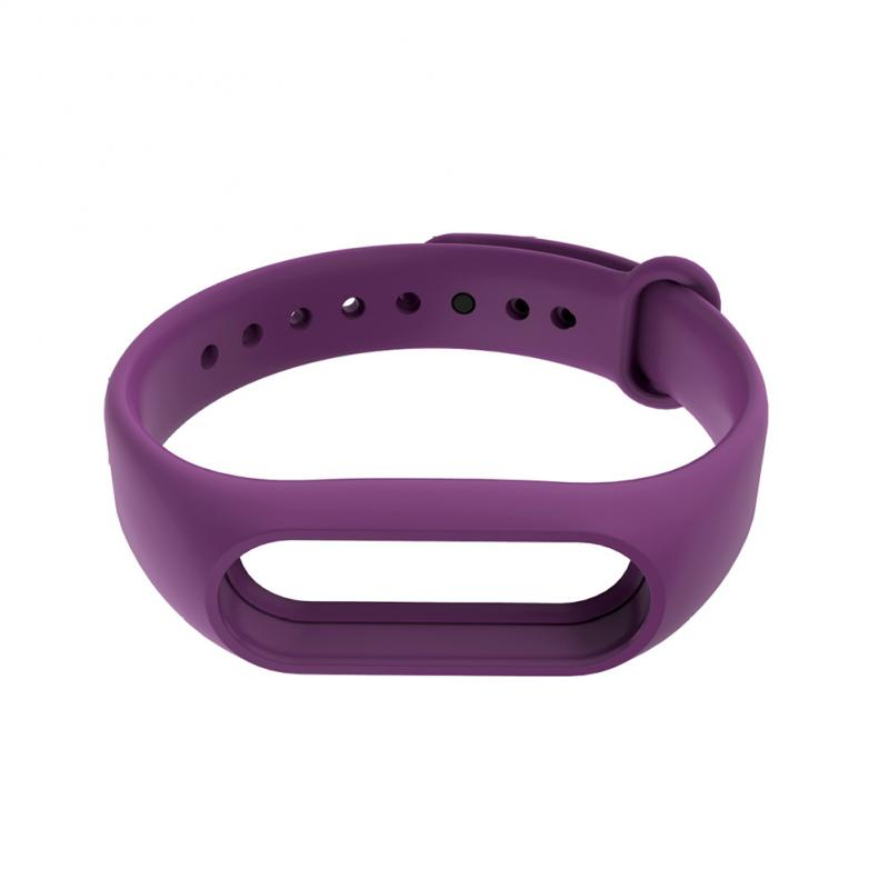 New Xiaomi Mi Band 2 Strap Bracelet Strap Miband Replacement Solid Color Silicone Wristband For Xiaomi Band 2 Accessories
