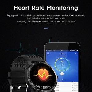 Image 3 - WearpaiT2 montre intelligente hommes Fitness Tracker moniteur de fréquence cardiaque tension artérielle Bluetooth alarme appel entrant montre étanche à leau hommes