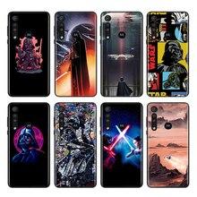 Disney Star Wars For Motorola One Marco Hyper Fusion Plus G9 G8 G 5G E7 E6 Edge Plus Play Power Lite Phone Case