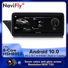 Автомобильный мультимедийный плеер, 8 ядер, 4 Гб + 64 ГБ, Android 10,0, для Audi A4L B8 A5 2009 2010 2011-2016 gps carplay 4G LTE WIFI DSP