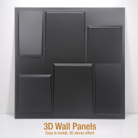 3D PVC Waterproof Wall Panel For Wall Decor