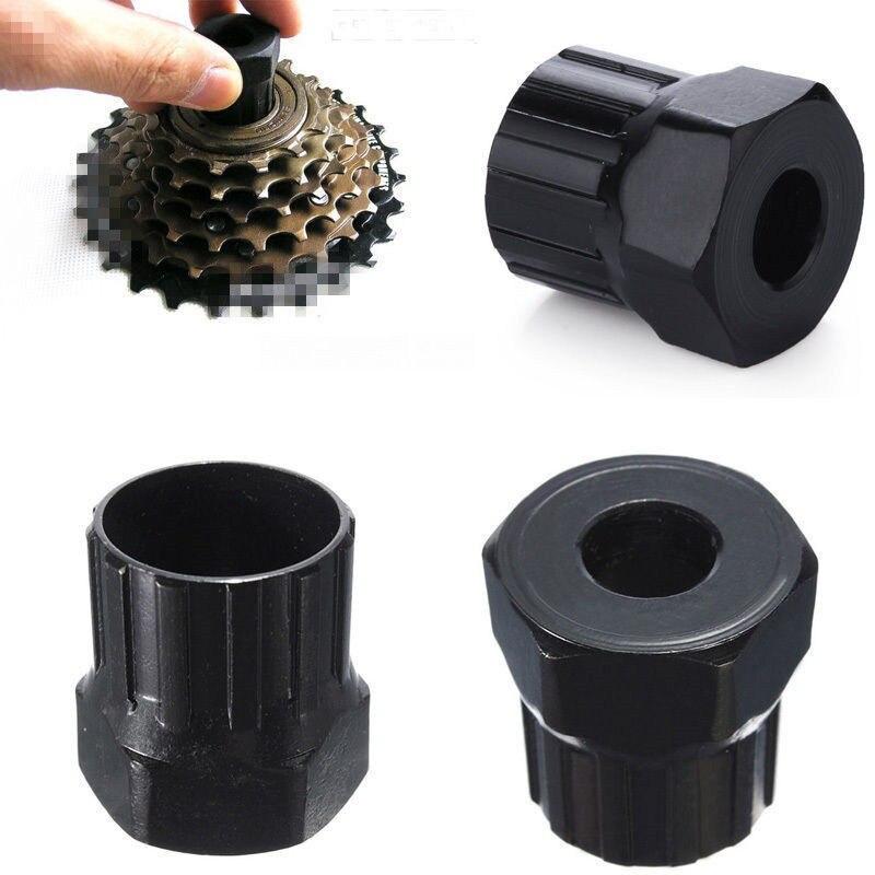1pcs Bicycle Cassette Flywheel Freewheel Lockring Remover Restore Repair Tool Carbon Steel Freewheel Remover Repair Tool